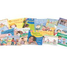 PSHE Books KS1 18pk  medium