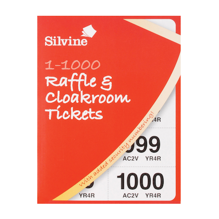 1\-1000 Raffle \x26 Cloakroom Tickets  large