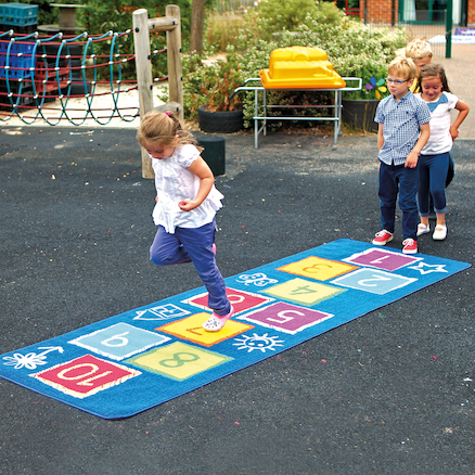 Outdoor Hopscotch Mat  large