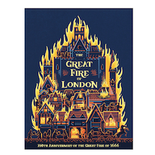 The Great Fire of London Book  medium