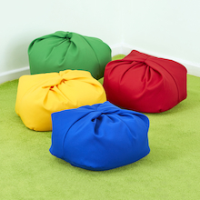 Mini Beanbag Primary Colours 4pk  medium