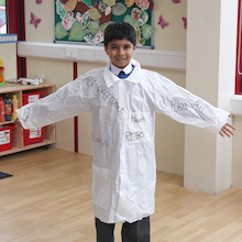 Children's Laboratory Coats  medium