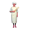Victorian Apron and Mop Cap Costume  small