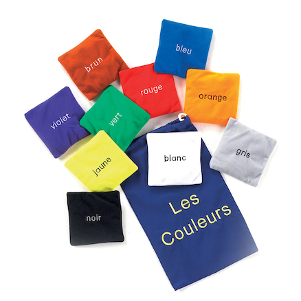 French Colour Bean Bags 10pk  large
