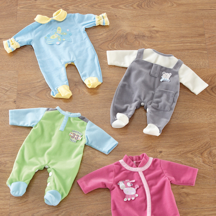 Role Play Dolls Babygro Set  large