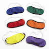 Rainbow Coloured Blindfolds 6pk  small