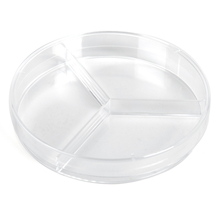 Compartment Petri Dish 20pk  medium