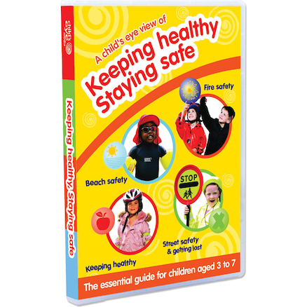 Keeping Healthy, Staying Safe DVD  large