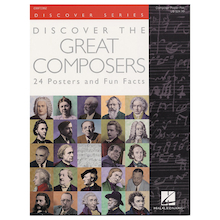 Great Composers Posters 24pk  medium