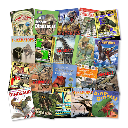 Amazing Dinosaurs Books  large