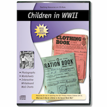 Children in WW2 Teaching Resources CD ROM  medium