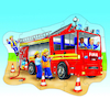 Big Transport Illustrated Jigsaw Puzzle  small