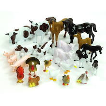Small World Farm Animals Set  medium