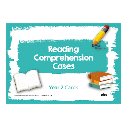 Reading Comprehension Cards Year 2  large
