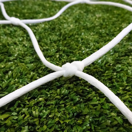 3.5mm Knotted Football Nets Pair  large