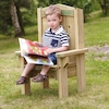 Outdoor Wooden Childrens Reading Chair  small