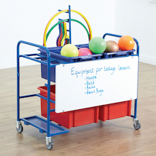 Whiteboard PE Storage Trolley  medium