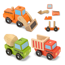 Stackable Construction Vehicles  medium