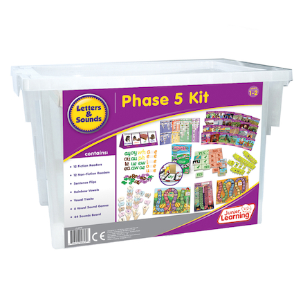Budget Phonics Kit  Phase 5  large