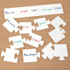 Double Sided Jigsaw Whiteboard  small