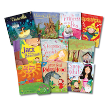 KS1 Traditional Fairy Tales Books 10pk  medium