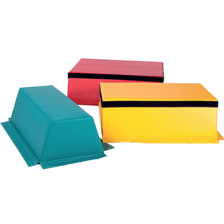 Soft 3 Piece Foam Vaulting Box  large