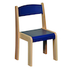 Solid Beech Stackable Chairs 4pk  small