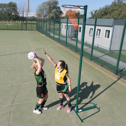 Tournament Wheel away Netball Posts  large