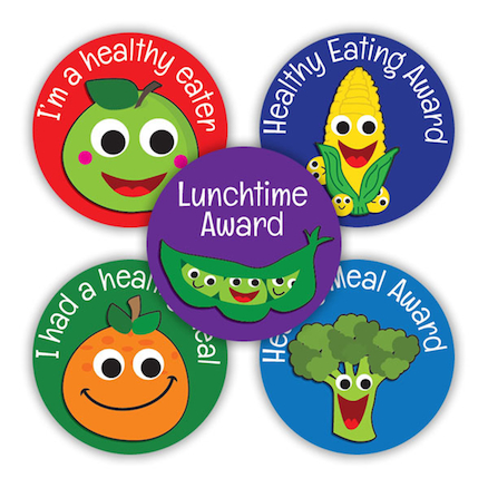 Lunchtime Award Stickers  large