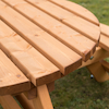 Round Junior Height Picnic Bench  small
