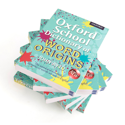 Oxford School Dictionary of Word Origins  large