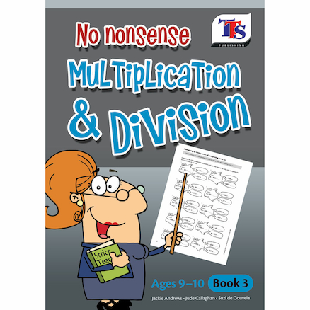 No Nonsense Multiplication and Division Book  large