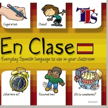 En Clase Spanish Teacher Language Learning CD  medium