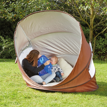 Pop Up Baby Sun Shelter  large