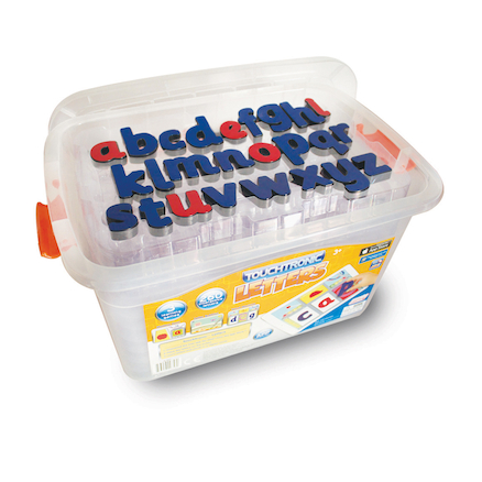 Touchtronic Letters Kit 260pk with storage tub  large