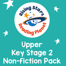 Reading Planet KS2 Upper non-fiction pack  medium