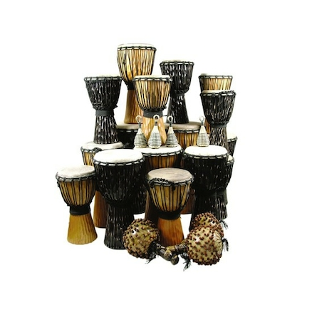 Djembe Drum Pack 24 Players  large