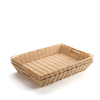Faux Plastic Wicker Baskets  small