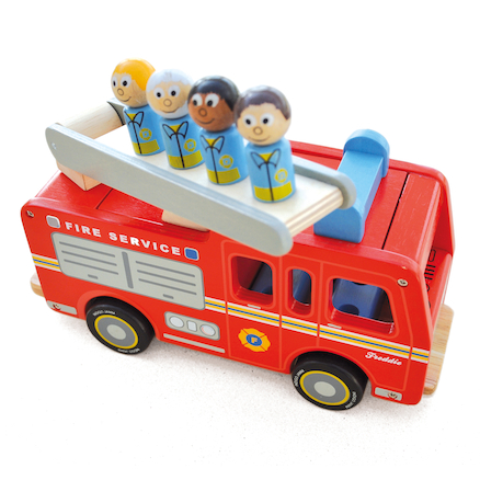 Toddler Wooden Fire Engine  large