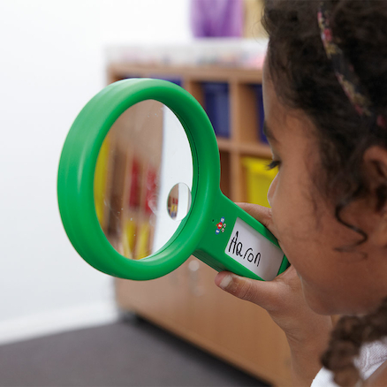 See and Speak Recordable Magnifying Glass 6pk  large