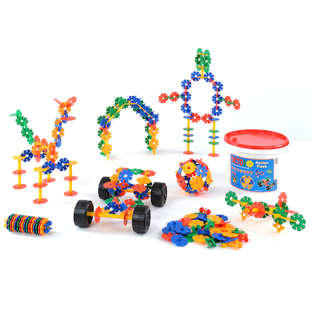 Octoplay Interlocking Construction Set 300pcs  large