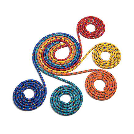 Coloured Skipping Ropes 10pk  large