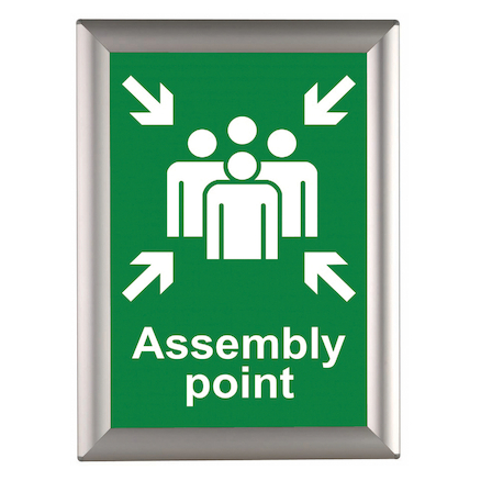Busygrip Aluminium Poster Frame  large