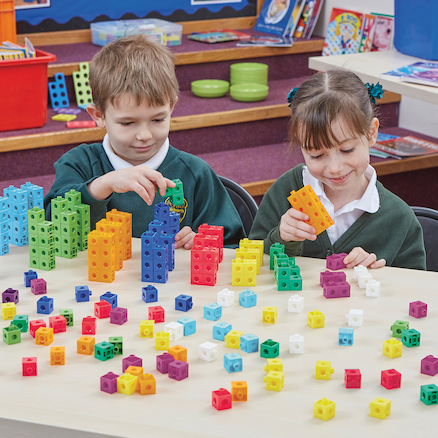 Number Frames Plastic Snap Cubes 1000pcs  large