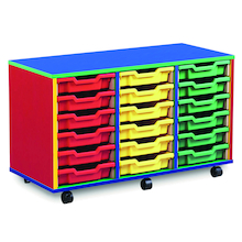 Colour My World Shallow Tray Storage Units  medium