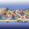 Small World Train Set 112pcs  small