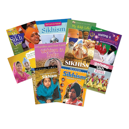 Sikhism Book Pack  large