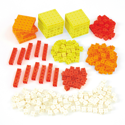 Singapore Colours Plastic Snap Cubes 1000pcs  large