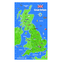 UK Deskmat A2 6pk  medium