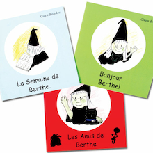 Berthe The Witch French Stories Book Pack  medium